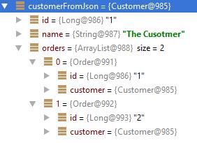Java Infinite recursion (StackOverflowError) Jackson solutions